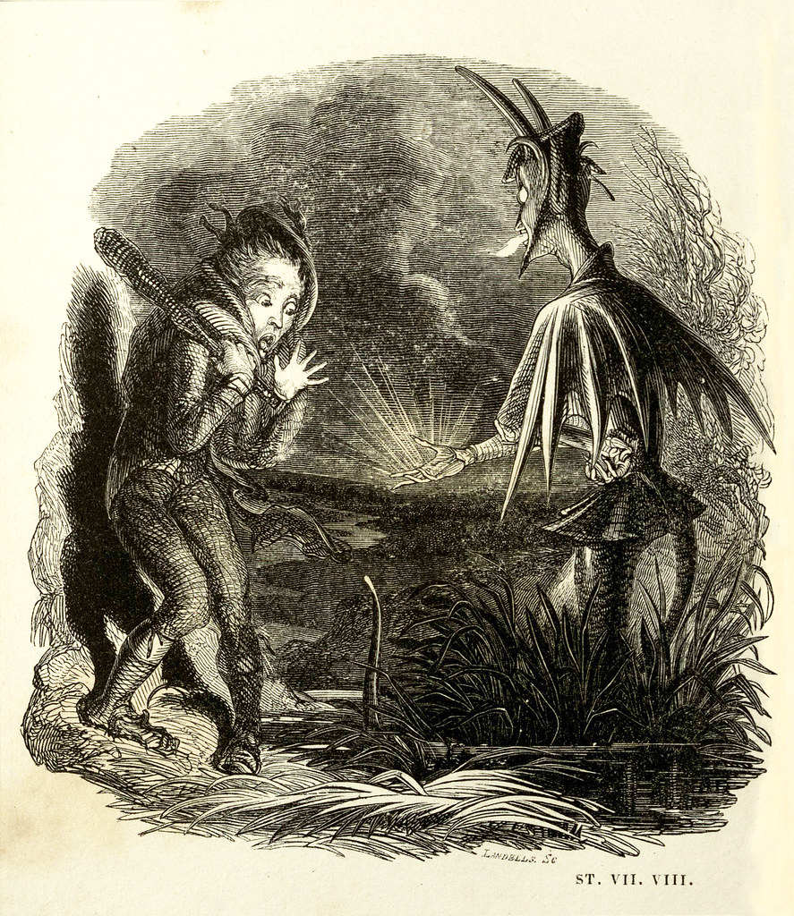 "Thomas Landseer - Illustrations from ""Tam O'Shanter and Souter Johnny, A Poem,"" by Robert Burns, 1830 (9)"