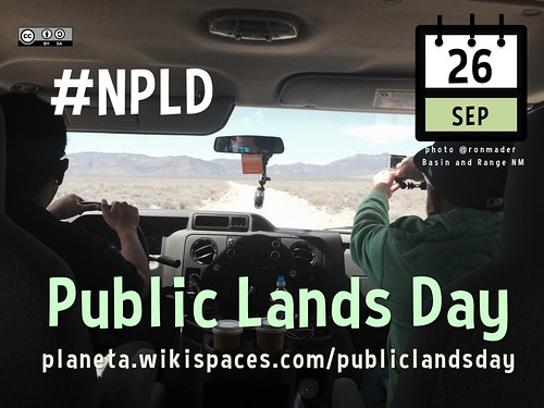 September 26 is Public Lands Day in the USA @publiclandsday @basin_and_range @blmnv @nevada_hiker @pewenvironment @ConservationLF @ProtectNevada @GetLocalFlavor @OfficialAIANTA #NPLD