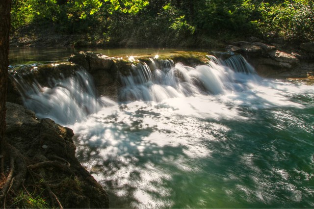 Bear Falls:  An Oklahoma Swimming Hole