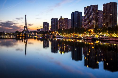 Paris from Le Pont Mirabeau