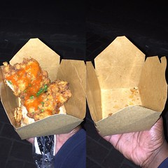 Nuit Blanche 2015: Fried Chicken/Donut Combo and How Good It Was
