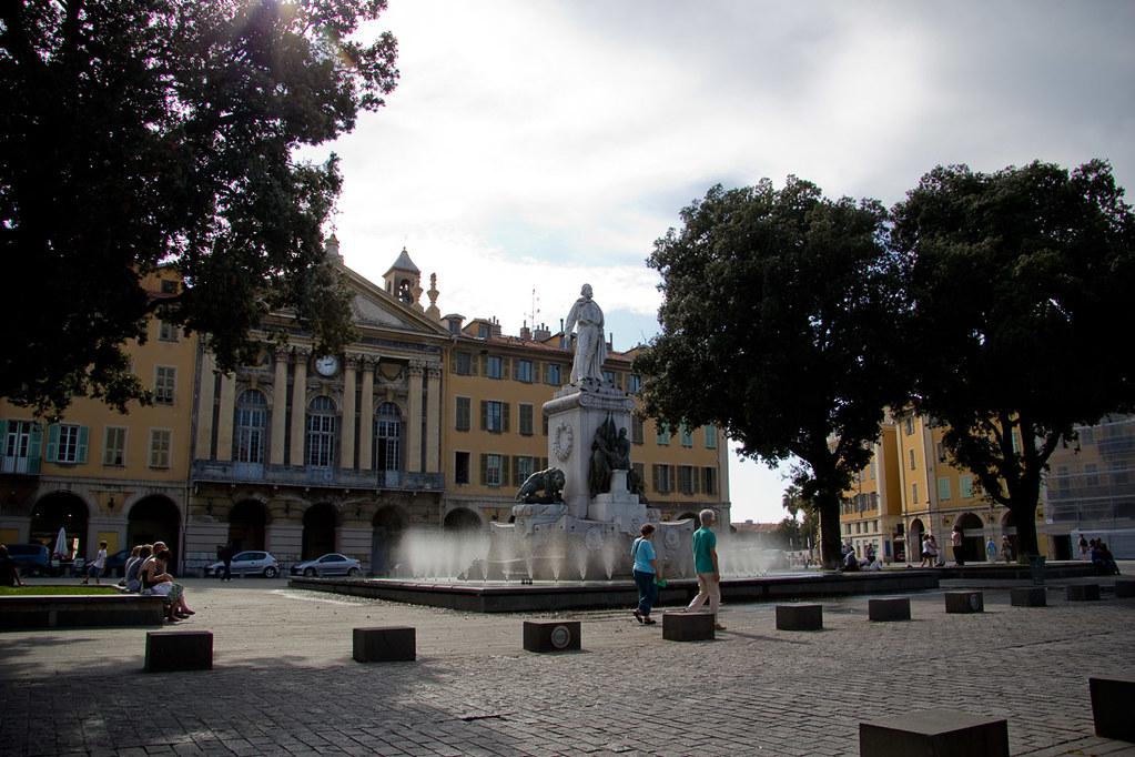 Square in Nice, France