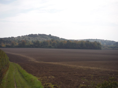Warden and Galley Hills, from route of Shortcut I