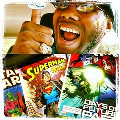 I VOTED!! Also, #StarWars, #Superman #SecretOrigins & #Xmen #DaysOfFuturePast!! #NerdOut #GeekOut