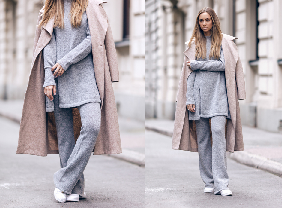 grey-marl-knit-suit-street-style-outfit