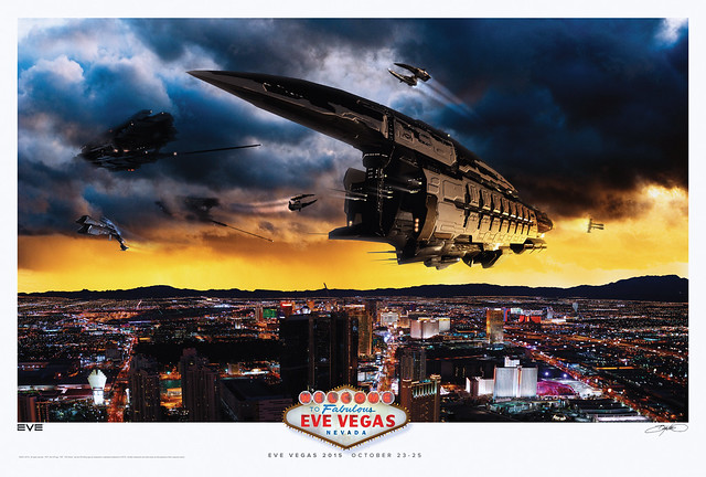 Eve Vegas 2015 Commemorative Poster