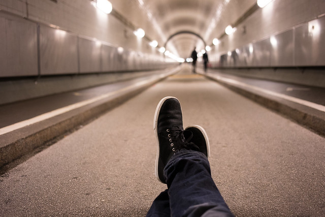 The Elb Tunnel - Traveling Boot Shots