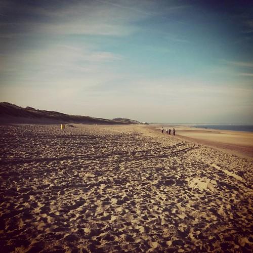 #ochtendrun in een andere scenery. #genieten #onthebeach #weekendjeweg