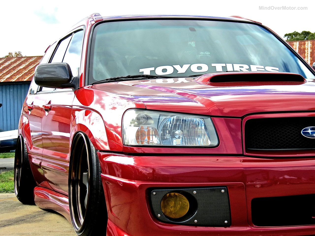 First Class Fitment Subaru Forester XT