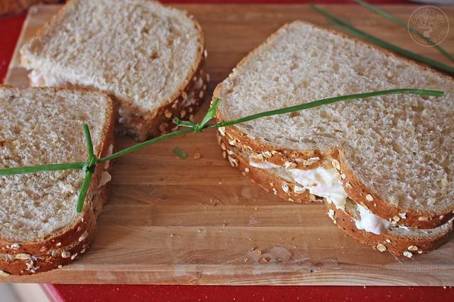 Sandwich de salmon ahumado y manzana www.cocinandoentreolivos.com (19)