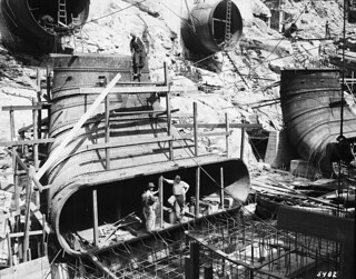Workers at Diablo Powerhouse, 1931