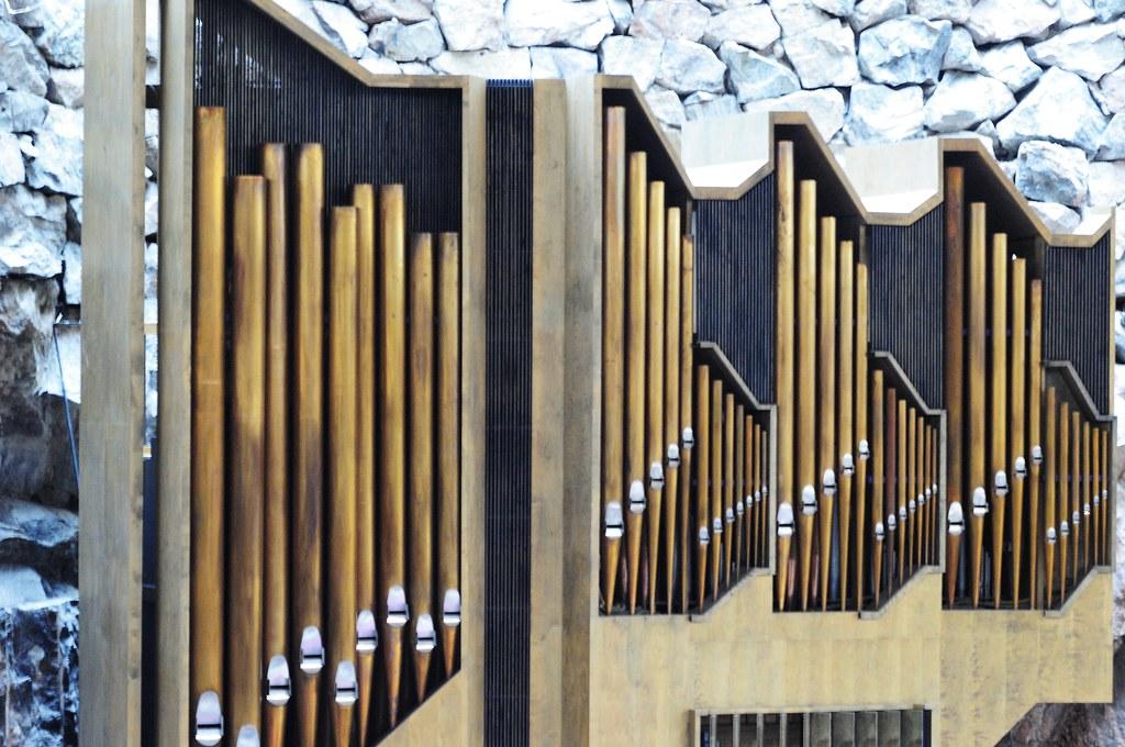 Felsenkirche - Orgel