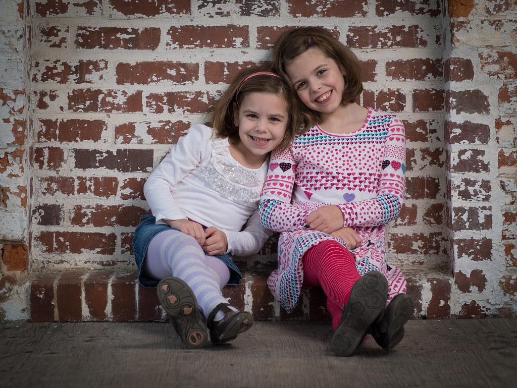 Loving sisters