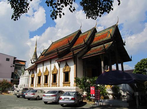 Chiang Mai: temple Wat Thung Yu