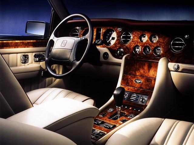 Салон Bentley Mulsanne I. 1980 – 1987 годы
