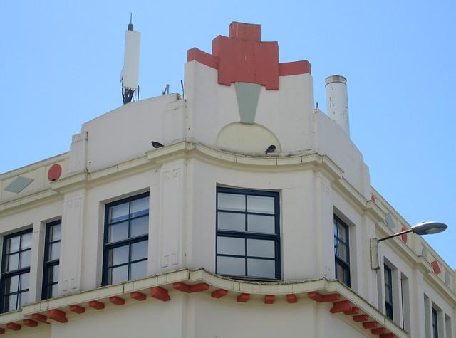 Art Deco, Bathgate, Detail