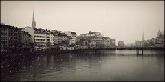 Winter in Zurich...