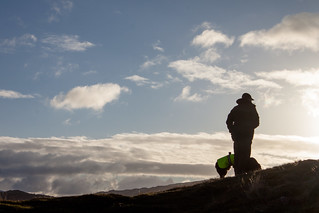 Steve & Ghyll in silhouette | by allybeag