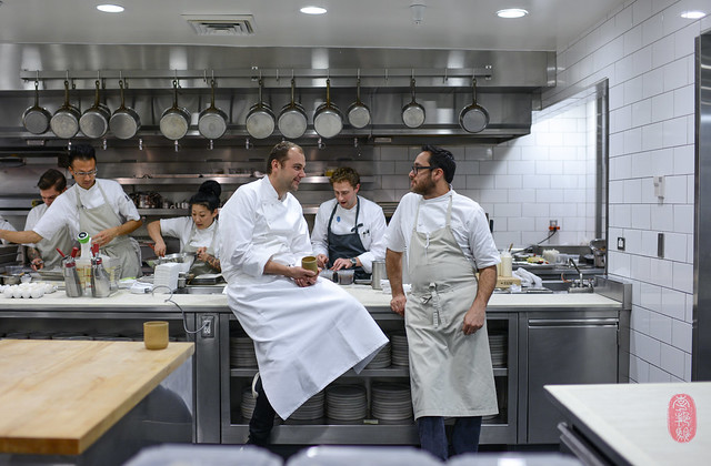 Daniel Humm and Christopher Kostow