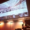 James Timberlake live at Iowa State. @kierantimberlake @isucollegeofdesign #iastate #lectureseries #beyond