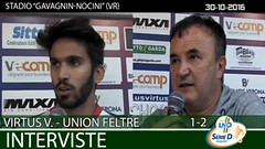 Virtus V.-Union Feltre del 30-10-16