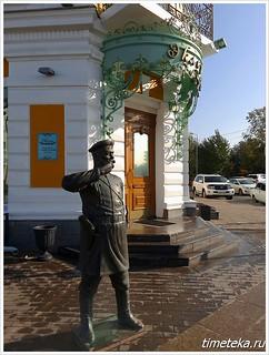 Омск. Улица Ленина. Городовой