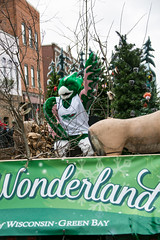 2016 UWGB Holiday Parade Float