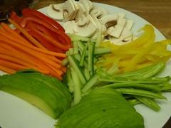 Rainbow supper