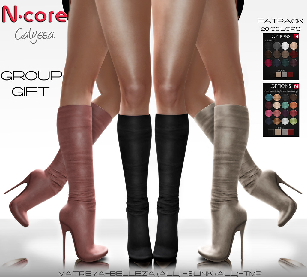 """N-core New GROUP GIFT """"Calyssa"""" (coming in a few hours!...) - SecondLifeHub.com"""