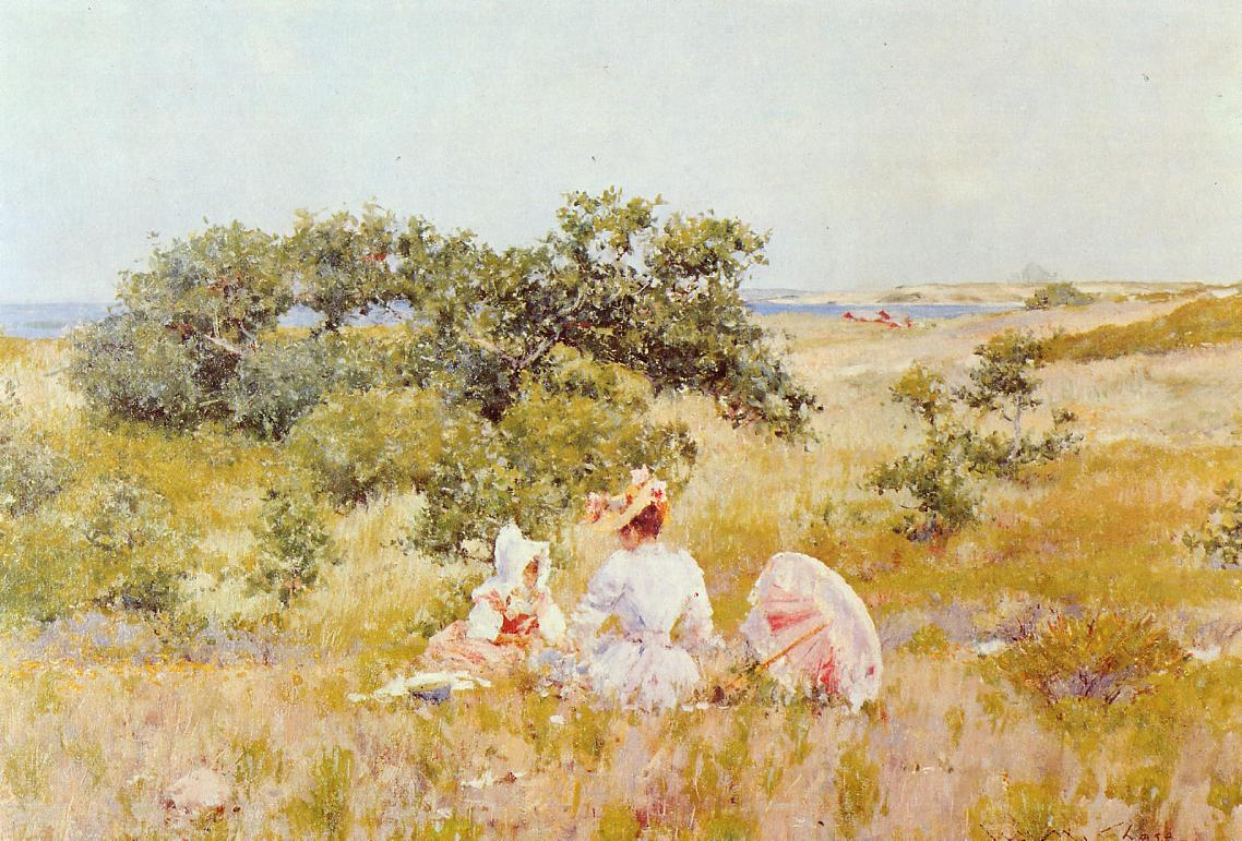 The Fairy Tale by William Merritt Chase, 1892
