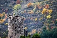 Tour du château de la Brigue, 06, Fr