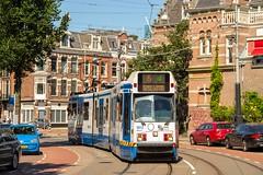 GVB 11G tram Trapwagen 902, Lijn 5, Koninginneweg