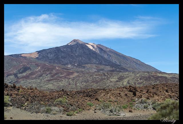 Tenerife Santiago del Teide acantilados los Gigantes Vilaflor - El Teide
