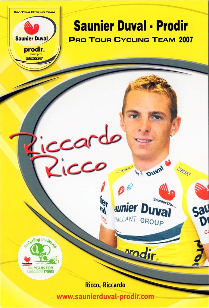 Riccardo Riccò - Saunier Duval Prodir 2007