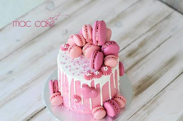 Cake by Vanessa Sabrido Quesada of Mac Cake Art