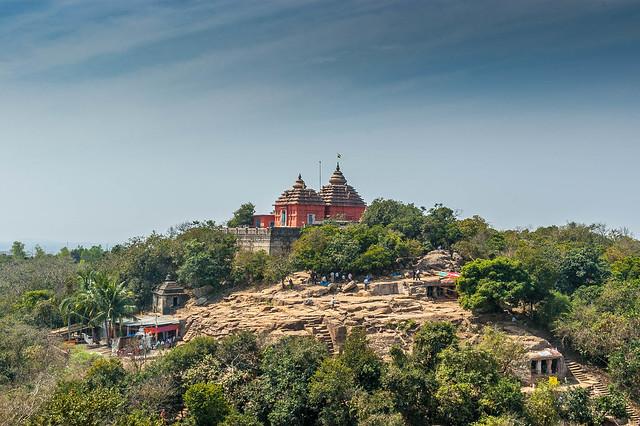 A Temple in Orissa