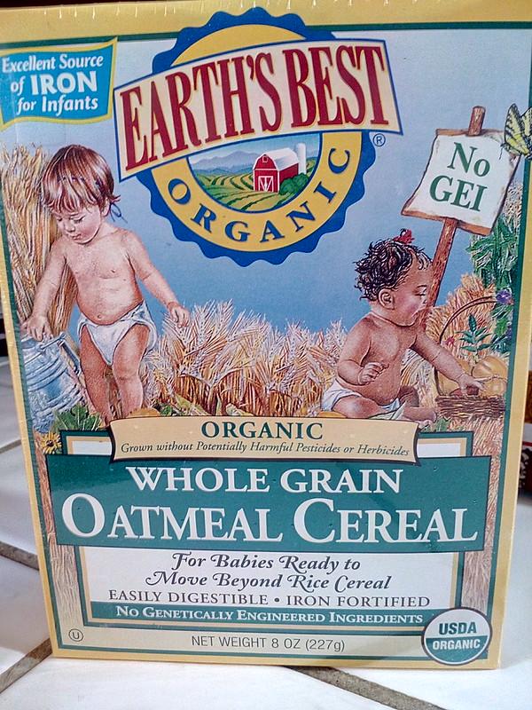 Earth's Best Organic Baby Oatmeal