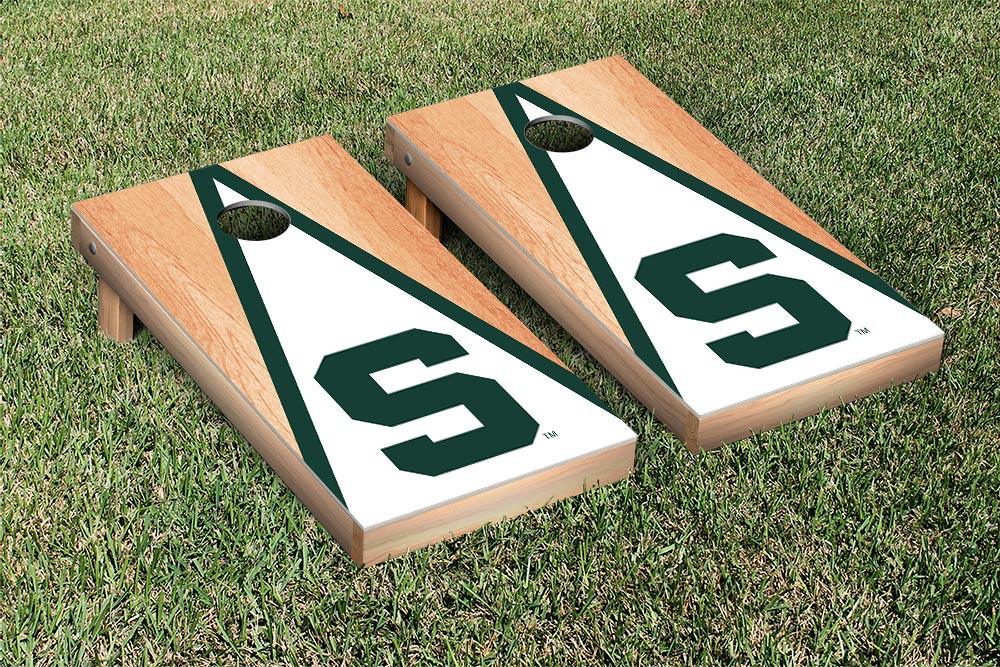 Michigan State Spartans Triangle Hardcourt Board 2