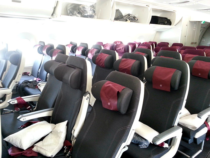 Review Of Qatar Airways Flight From Singapore To Doha In