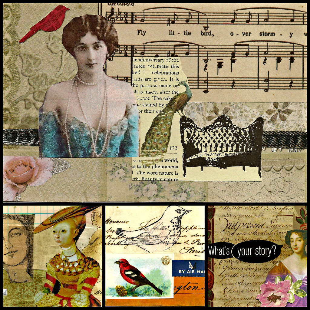 women collage