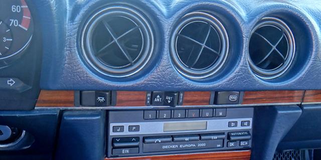 MERCEDES SL W107 R107 560SL 280SL 300SL WURZELHOLZ Armaturenbrett ... | {Armaturenbrett mercedes 39}