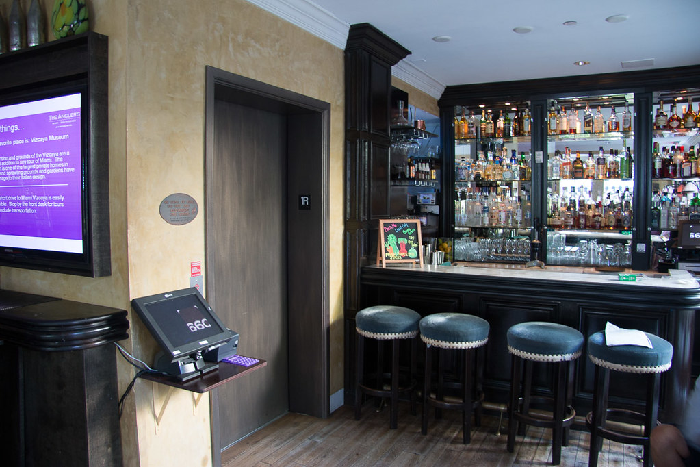 Bar and Dining Seating at Angler's Hotel - Kimpton