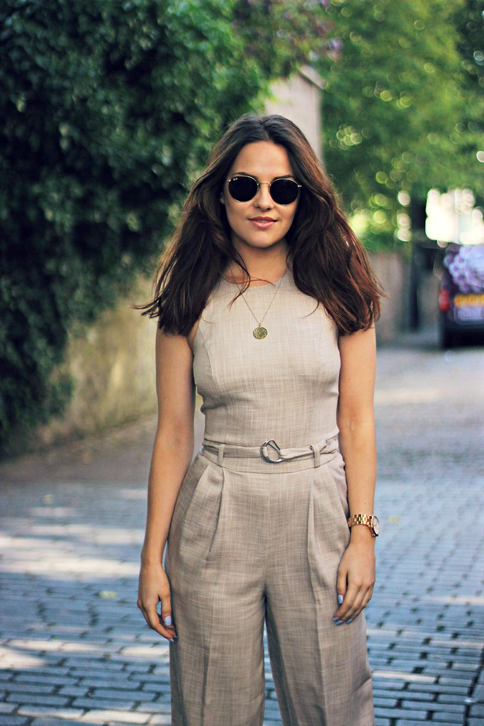ASOS linen jumpsuit the little magpie 2