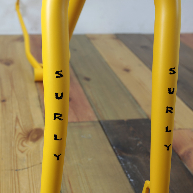 Surly PUGSLEY CUSTOM PAINT BY SWAMP THINGS