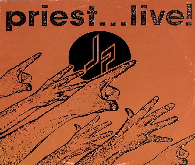 JUDAS PRIEST PRIEST LIVE 2LP FOC