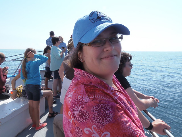 Me on the Granite State Whale Watch