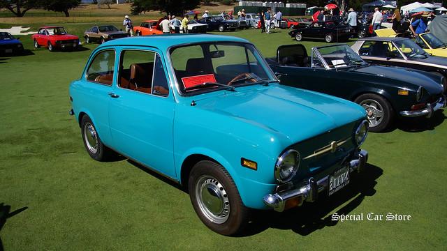 1971 FIAT 850 BERLINA 2 DOOR SEDAN