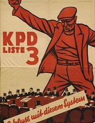 Wahlplakat der KPD