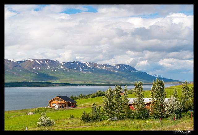 Cabañas en fiordo Eyjafjördur