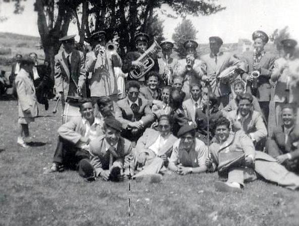 fotos antiguas-banda de música